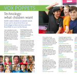 Vox Poppets: What children want